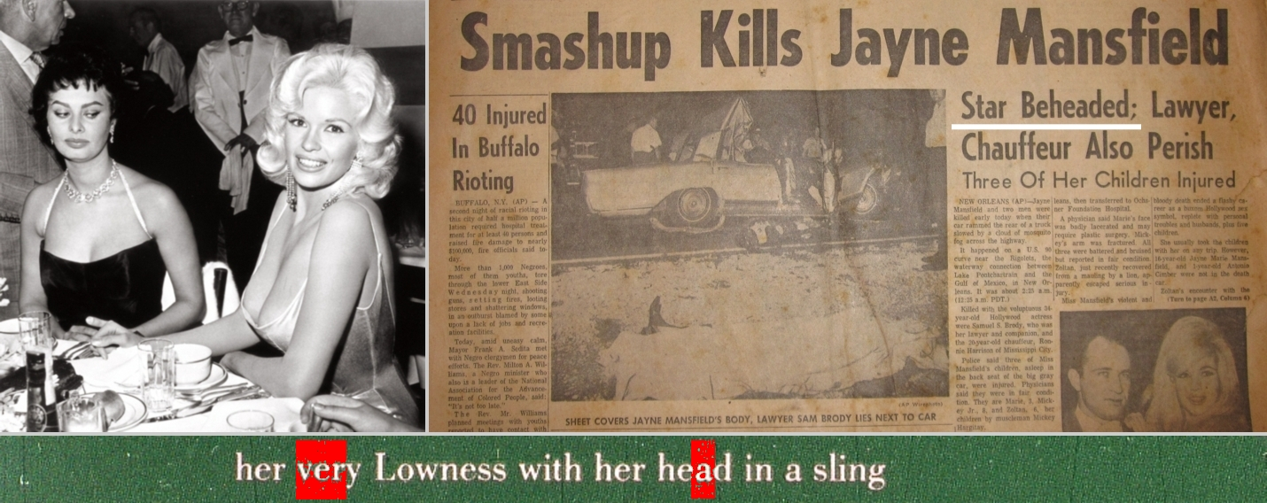 jayne mansfield accident